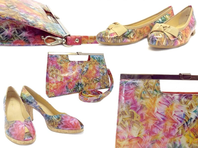 Peter Kaiser Spring Summer 2014 Mutli Coloured Shoe and Bag Range