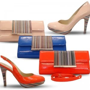 Multicolour Collection Shoes and handbags
