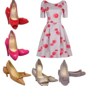 Five shoes one dress
