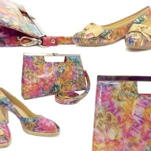 Peter Kaiser Spring Summer 2014 Mutli Coloured Shoe and Bag Range