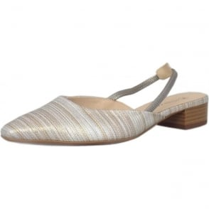 Castra Women's Dressy Low Heel Sandals in Sabbia Atamante