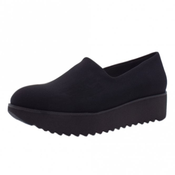 Daria Comfortable Stretch Shoe in Black