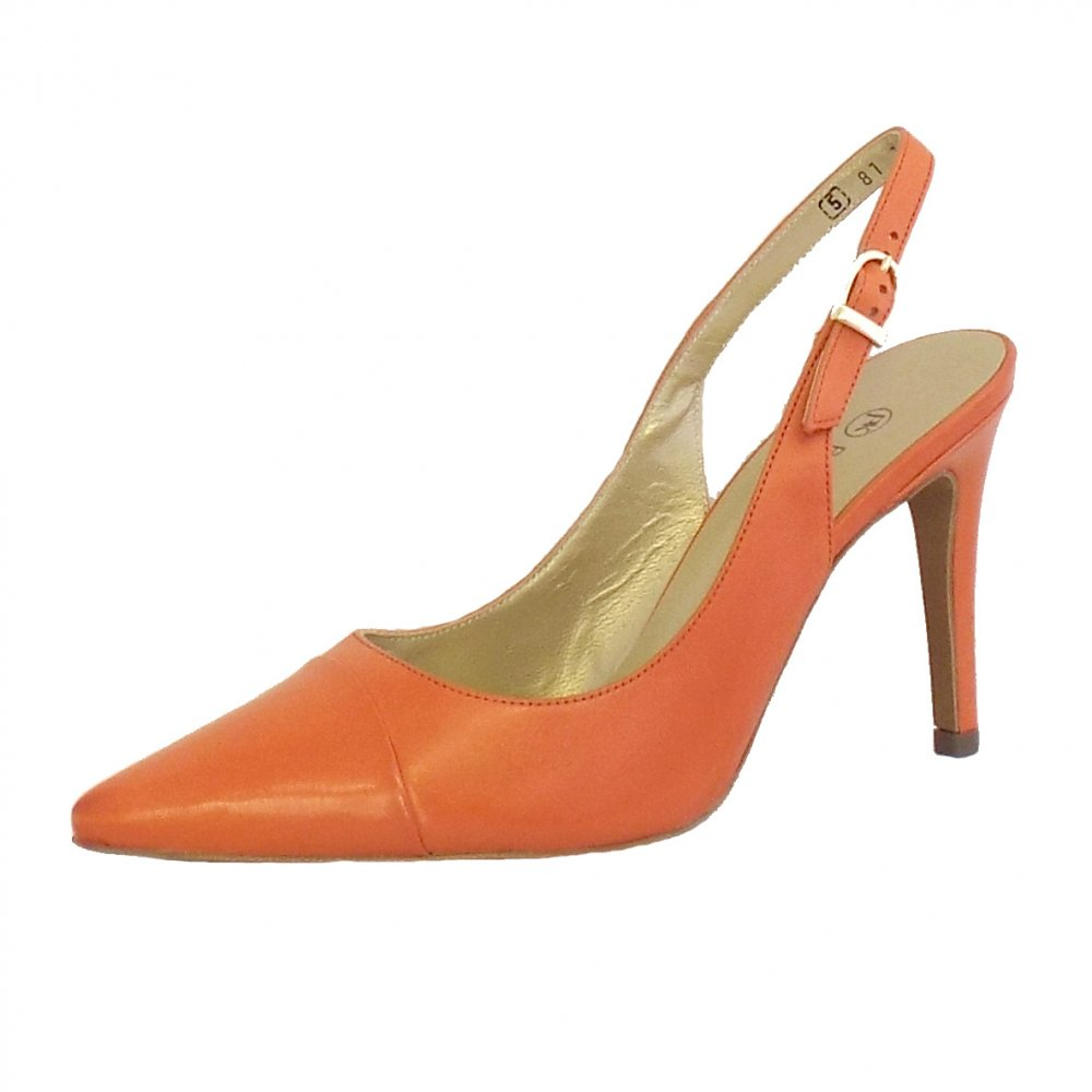 Orange Wedding Shoes 003 - Orange Wedding Shoes