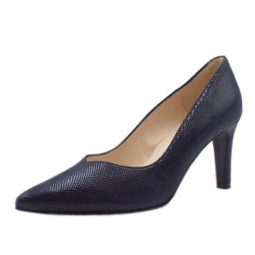 Elfi Court Shoes in Notte Sarto