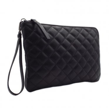 Kirsty Black Glove Stylish Clutch Bag