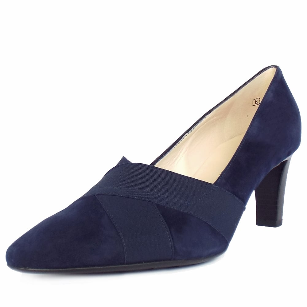 Womens Shoes Navy Pumps