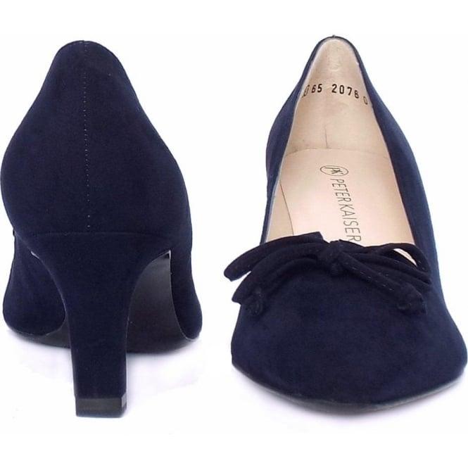 navy suede heels uk