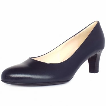 Nika Classic Court Shoes in Navy