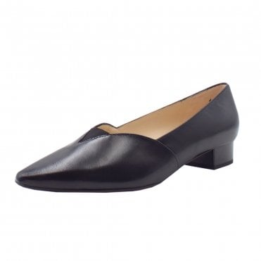Peter Kaiser Abina Low Heel Pump in Black