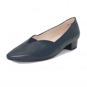 Peter Kaiser Abina Low Heel Pump in Navy