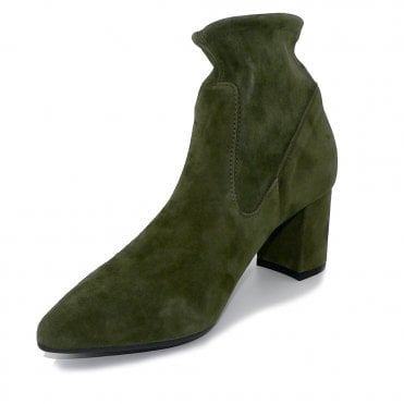 Peter Kaiser Bassy Sock Boot in Pine Suede