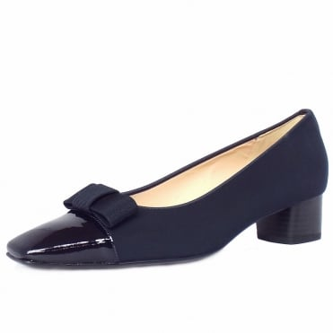 Beli low heel pumps in navy