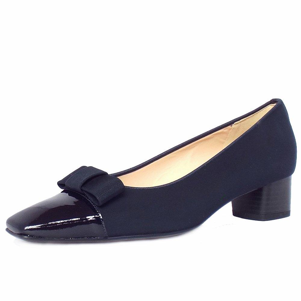 peter kasier beli classic low heel pumps in navy peter kaiser uk. Black Bedroom Furniture Sets. Home Design Ideas