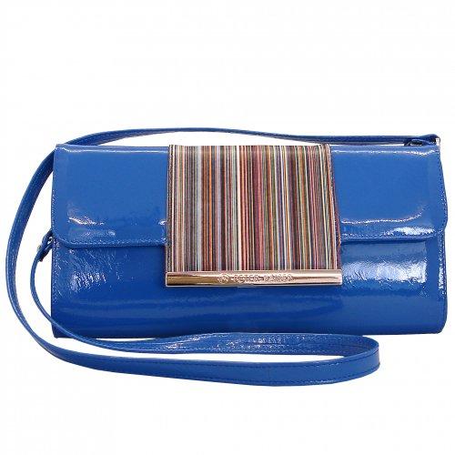 Peter Kaiser Berta Classic Clutch Bag In Orange Mandarin