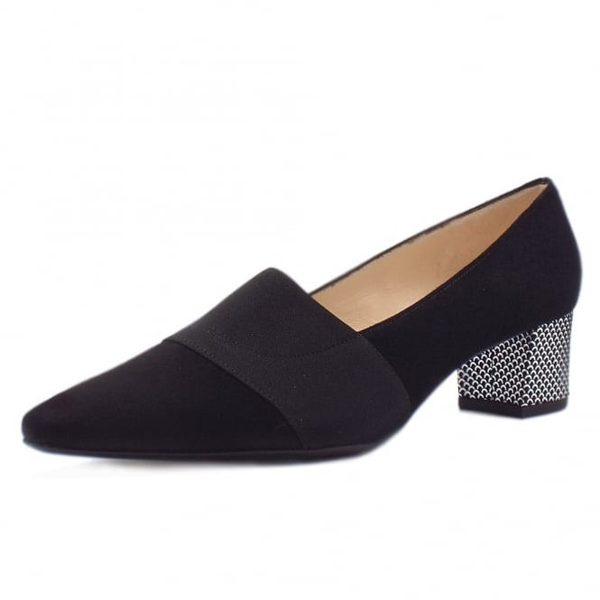 Betzi Mid Heel Court Shoes in Summermoon