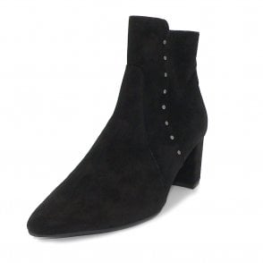 Peter Kaiser Bioni Ankle Boot in Black Suede