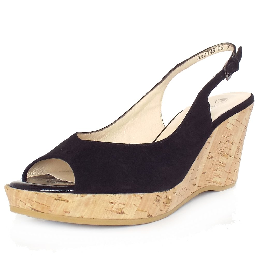 Find black suede wedge shoes with at ShopStyle. Shop the latest collection of black suede wedge shoes with from the most popular stores - all in one.