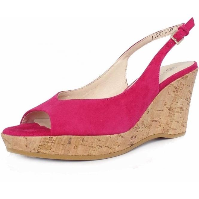 Peter Kaiser UK   Calissa Sand Shimmer   Ladies Evening Sandal