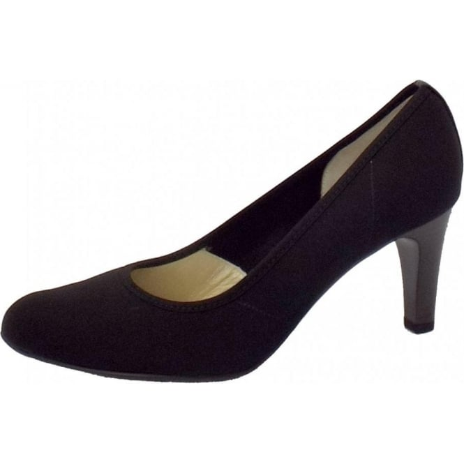 Bono Stretch Upper High Heel in Black