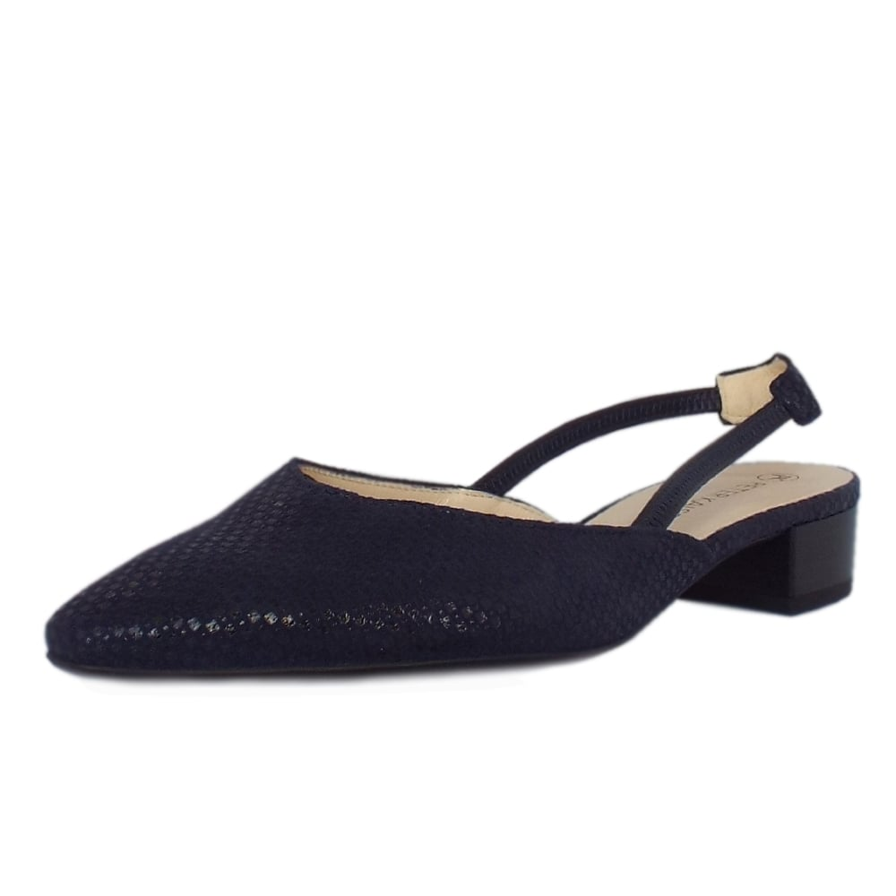 Black evening sandals flat - Carsta Notte Topic Evening Sandals With Low Heel