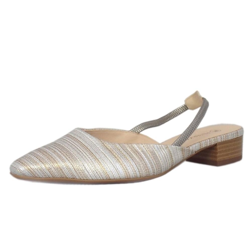 Castra Sabbia Atamante Evening Sandals With Low Heel. Peter Kaiser