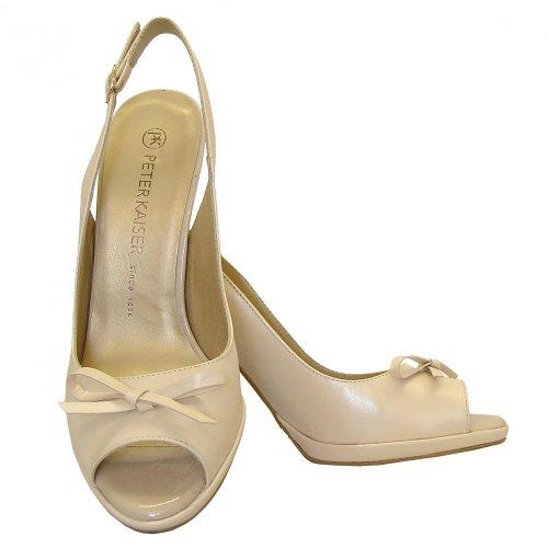 4bc96d46f30 ... Claris lana leather stiletto sandal. ‹