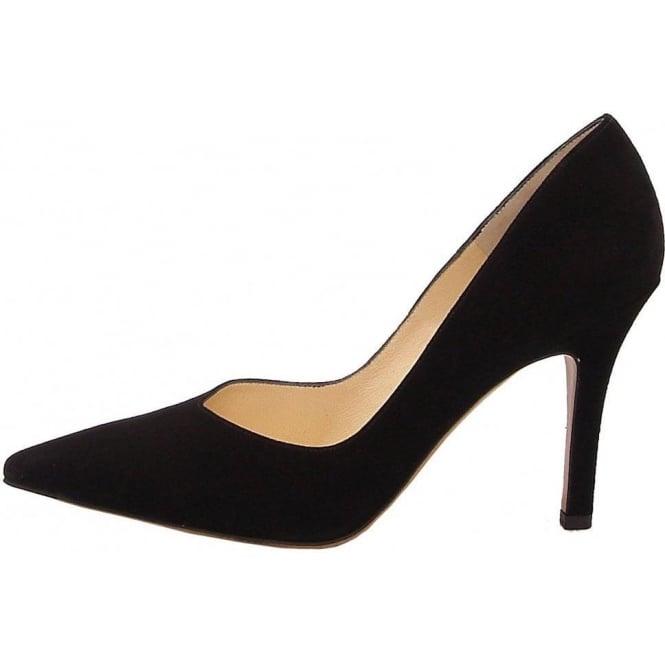 promo code 6e0ed 11c8b Peter Kaiser Dione black suede stilettos   Pointy toe ...