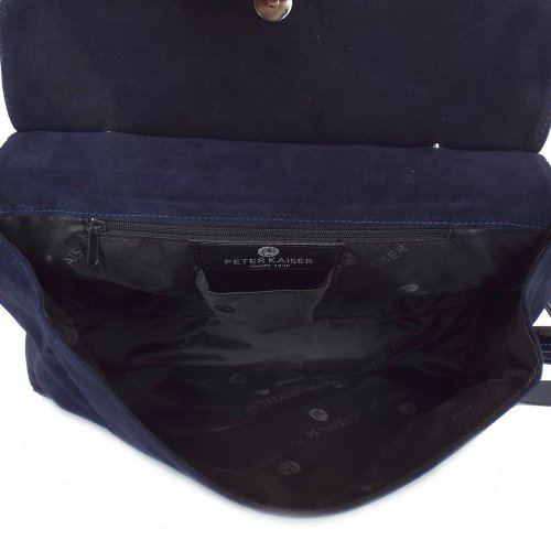 ... Doris Notte Navy Suede and Patent Women s Handbag ... aa5f2c2e1d425
