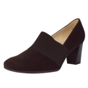 Dorna Nuba Suede High Top Wide Fit Pumps