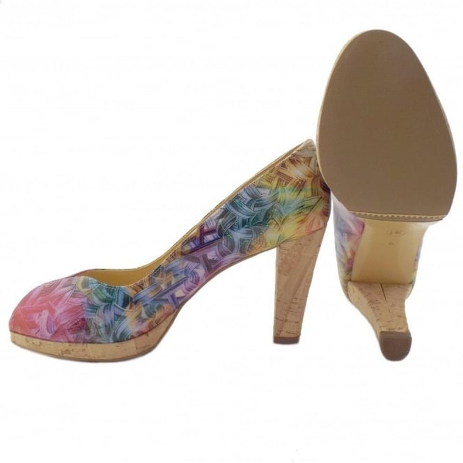 newest 3012e 36d82 Peter Kaiser Edita | Multicoloured Ladies Patent Leather Shoes