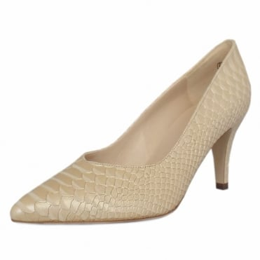 Elektra Sabbia Birman Leather Mid Heel Dressy Pumps