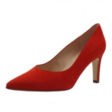 Elfi Classic Court Shoes in Brasil Suede