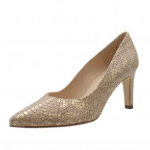 Elfi Classic Court Shoes in Mauve Ayers