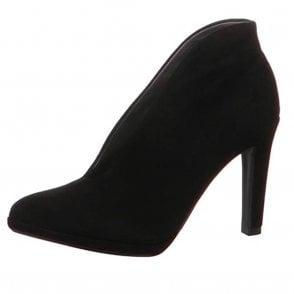 Haley Shoe Boot in Black Suede