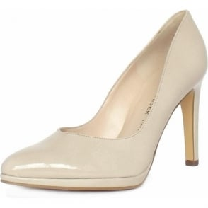 Herdi Lana Crackle Patent Stiletto Pumps