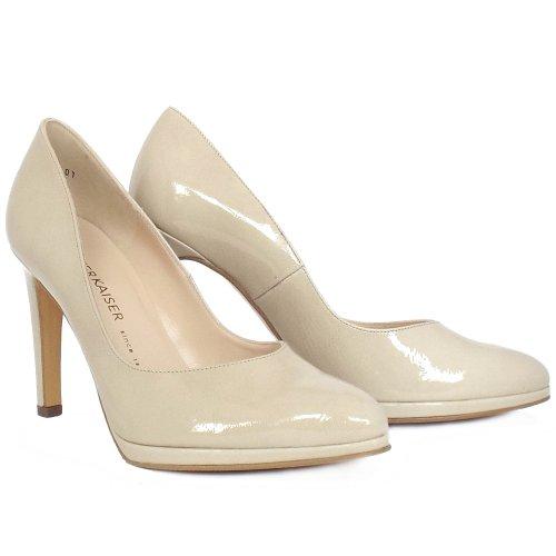 peter kaiser uk herdi lana crackle nude patent high heel pumps. Black Bedroom Furniture Sets. Home Design Ideas