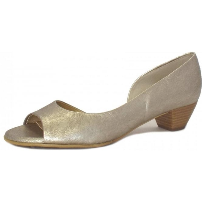 Itha Open Toe Shoes in Taupe Furla