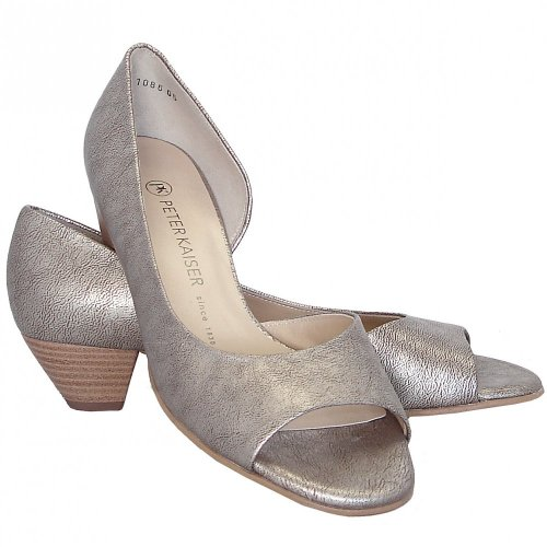 3bdf9104781f ... Itha taupe furla low heel evening shoes. ‹
