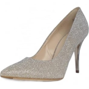 IVI stylish Sand Shimmer stilettos