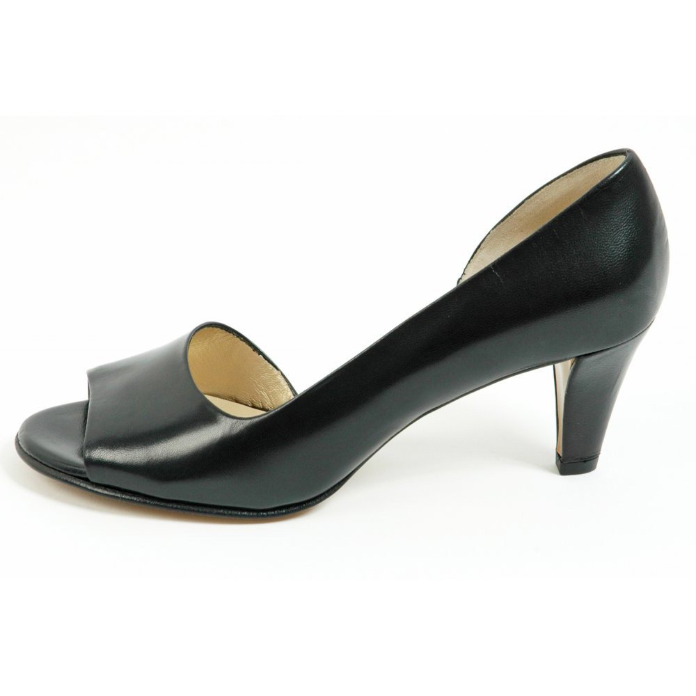 Leather Black Patent Shoes