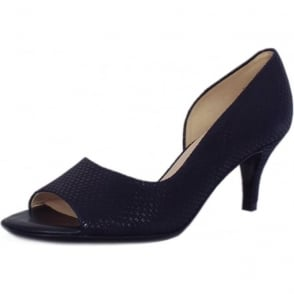 Jamala Notte Topic Open Toe Mid Heel Pumps