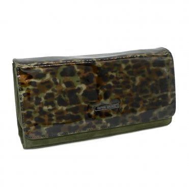 Peter Kaiser Lanelle Clutch Bag In Pine Suede