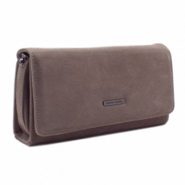 Lanelle Fur Suede Stylish Clutch Bag