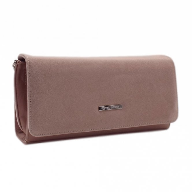Lanelle Mauve Stylish Clutch Bag
