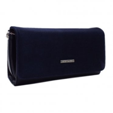 Lanelle Notte Navy Stylish Clutch Bag