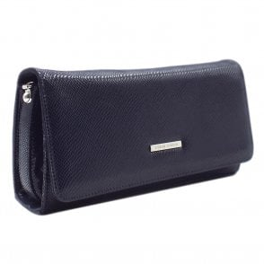 Lanelle Notte Sarto Leather Clutch Bag