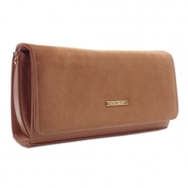 Lanelle Stylish Biscotti Clutch Bag