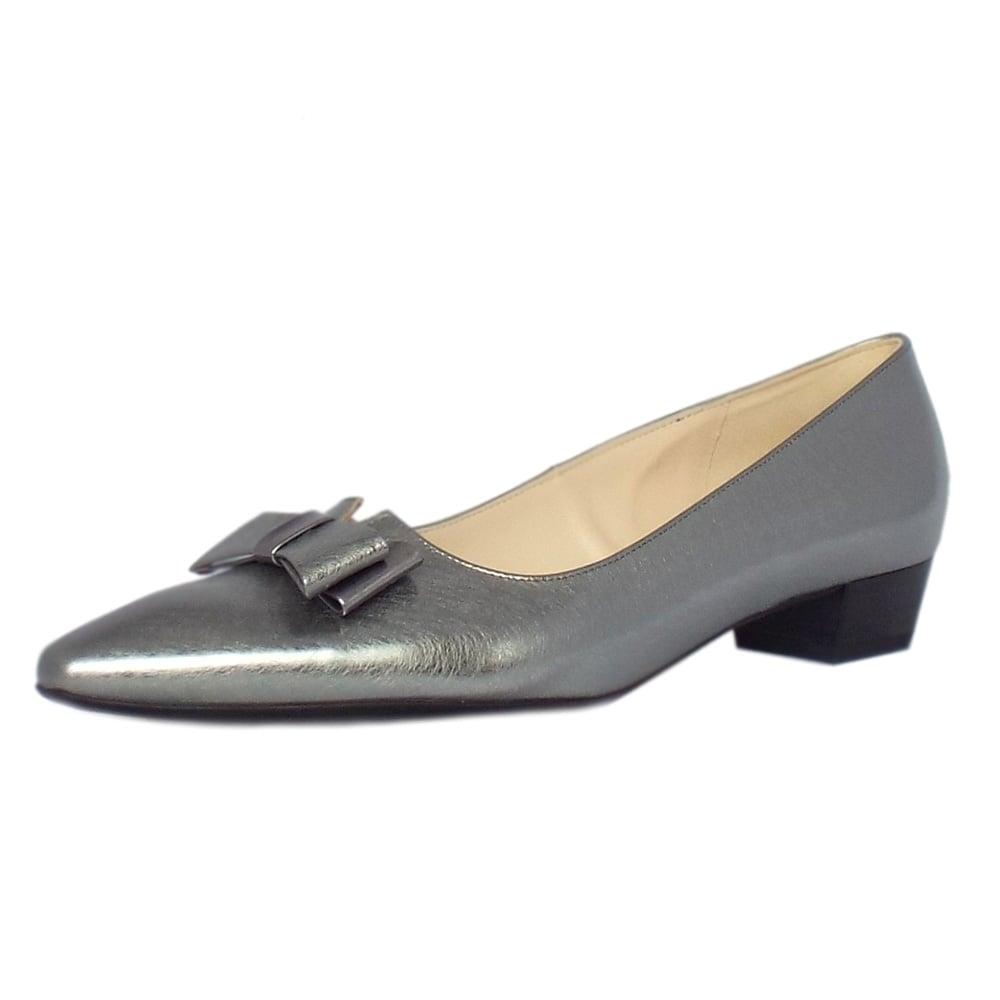 home shoes peter kaiser lisa steel graffiti silver brushed. Black Bedroom Furniture Sets. Home Design Ideas
