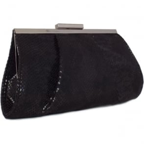 Lomasi Black Diano Small Clutch Bag