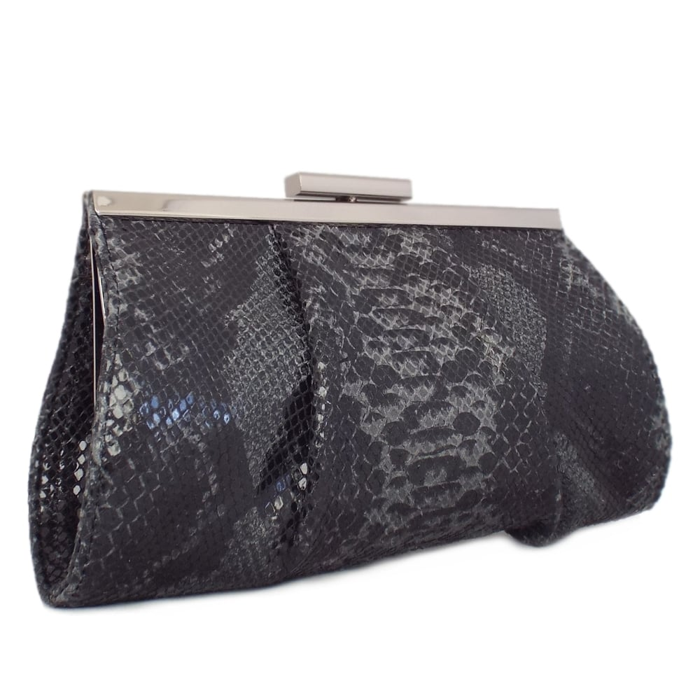 39cd74efd1 Peter Kaiser UK | Lomasi | Small Clutch | Carbon Textile